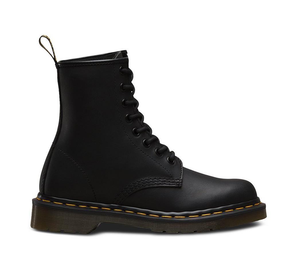 На фото ботинки Dr.Martens 1460 Black Greasy