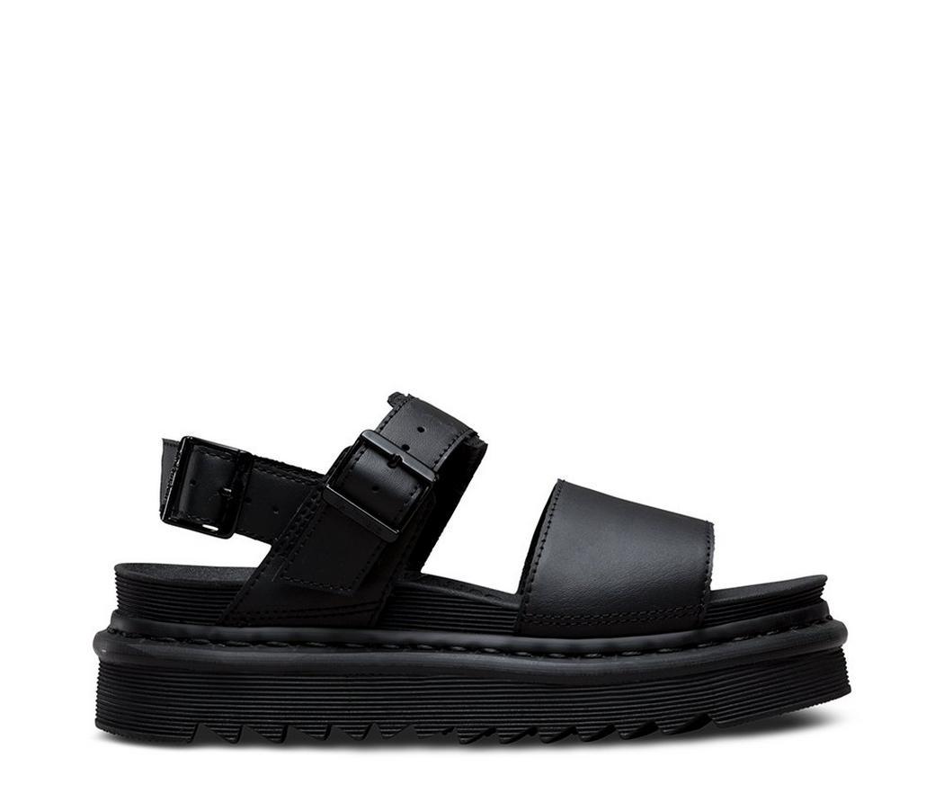 На фото сандали Dr.Martens Voss Black HyDr.Leather