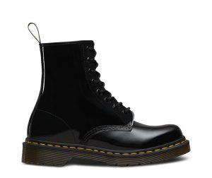 На фото ботинки Dr.Martens 1460 Black Patent Lamper