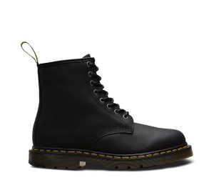 На фото ботинки Dr.Martens 1460 Wintergrip Black Snowplow