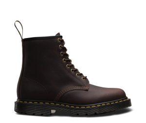 На фото ботинки Dr.Martens 1460 Wintergrip Cocoa Snowplow