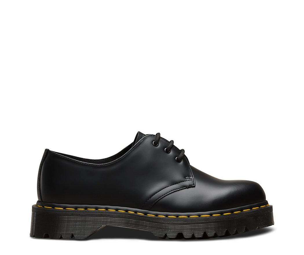 На фото туфли Dr.Martens 1461 Bex Black Smooth