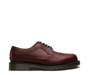 На фото броги Dr.Martens 3989 Cherry Smooth
