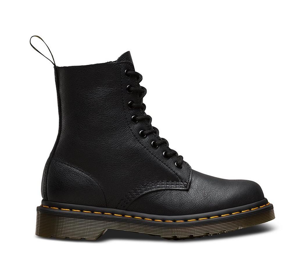 На фото ботинки Dr.Martens Pascal Black Virginia