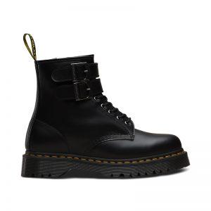 На фото ботинки Dr.Martens 1460 Alternative Black Smooth
