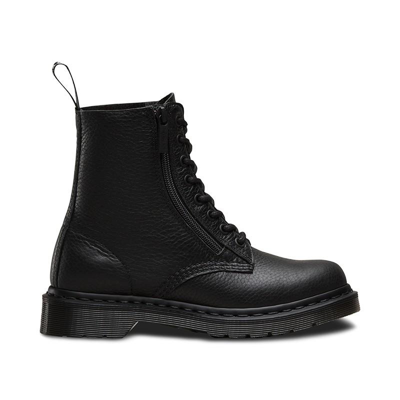 На фото ботинки Dr.Martens Pascal Zip Black Aunt Sally